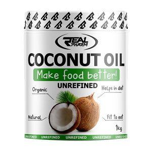 Real Pharm Coconut Oli nierafinowany - 1000ml
